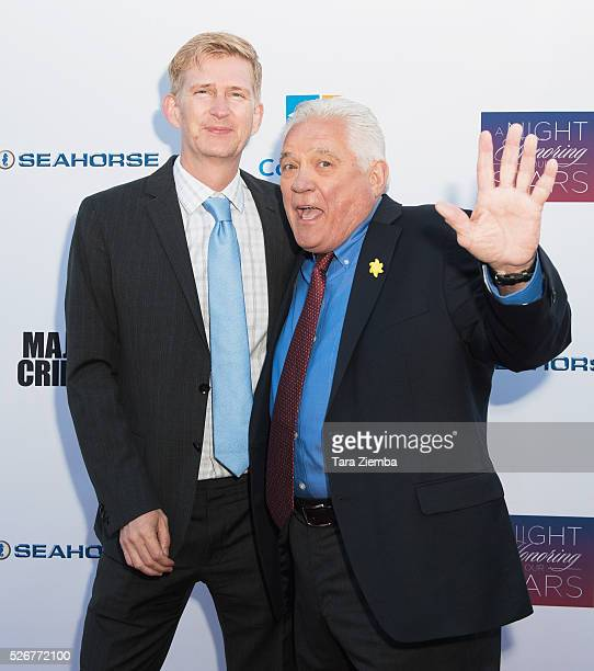 Bill Bochtrup and GW Baily attend Covenant House Of California's Annual Fundraising Gala at The Globe Theatre at Universal Studios on April 30 2016...