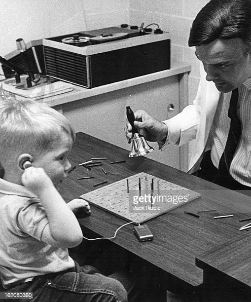 OCT 11 1965 OCT 18 1965 Bill Borthick tinkles a bell and Josh hand to his ear indicates that he can hear the sound The bell tinkling is a little more...