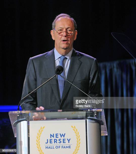 Bill Bradley attends the 2018 New Jersey Hall Of Fame Induction Ceremony at Asbury Park Convention Center on May 6 2018 in Asbury Park New Jersey