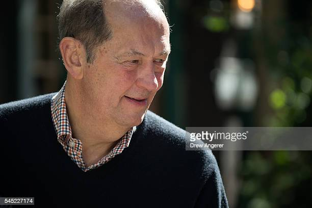Bill Bradley hall of fame basketball player and former US Senator from New Jersey attends the annual Allen Company Sun Valley Conference July 6 2016...