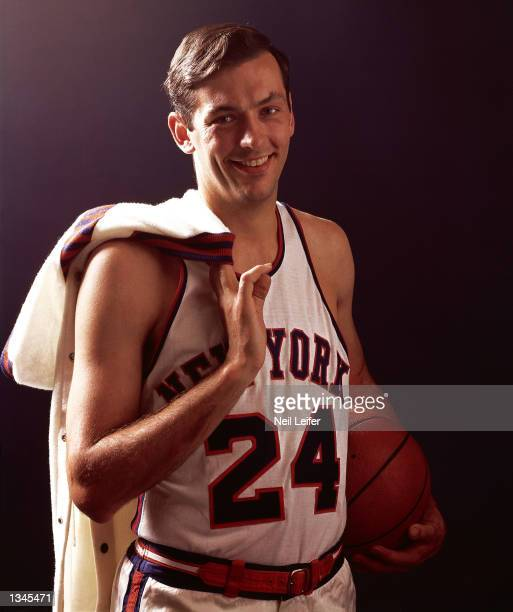 Bill Bradley of the New York Knicks poses for a portrait in New York NOTE TO USER User expressly acknowledges and agrees that by downloading and or...