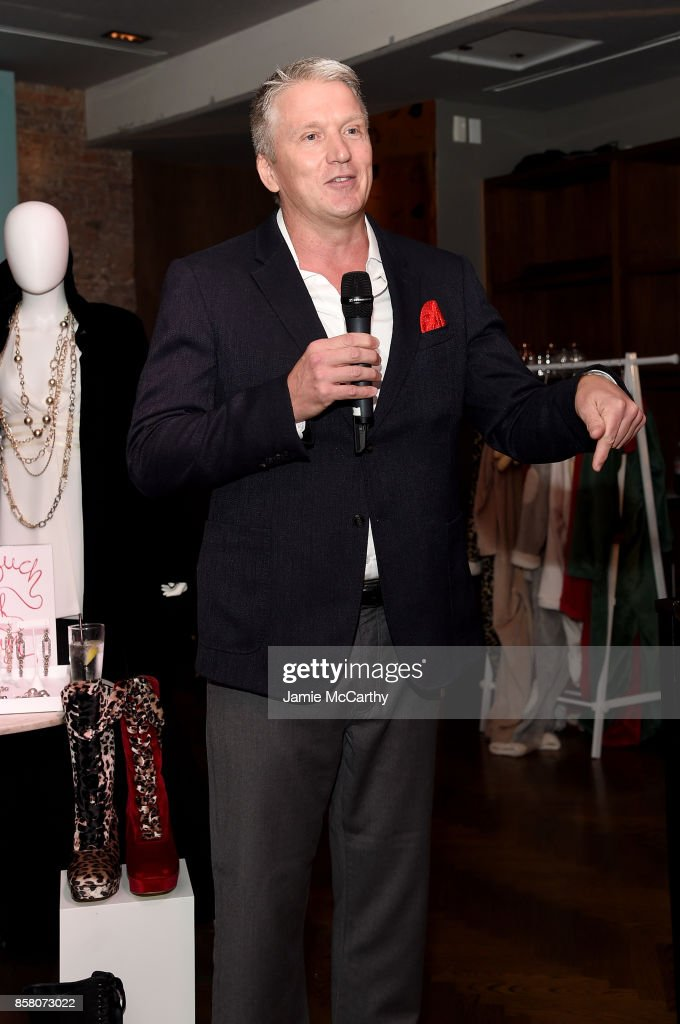 Bill Brand speaks onstage at the HSN 2017 Holiday Cocktail Party at KOLA House on October 5, 2017 in New York City.