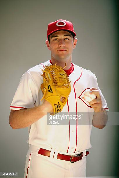 Bill Bray of the Cincinnati Reds poses during Photo Day on February 23 2007 at Ed Smith Stadium in Sarasota Florida