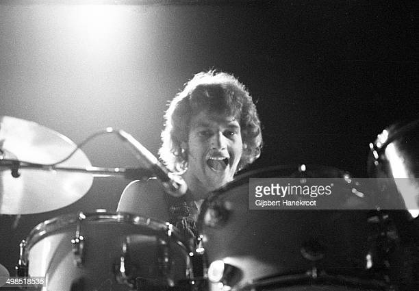 Bill Bruford from King Crimson performs live on stage at Concertgebouw in Amsterdam Netherlands on March 31 1973