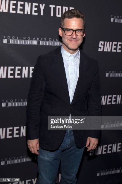 Bill Buckhurst attends Sweeney Todd The Demon Barber Of Fleet Street Opening Night party at City Bakery on March 1 2017 in New York City