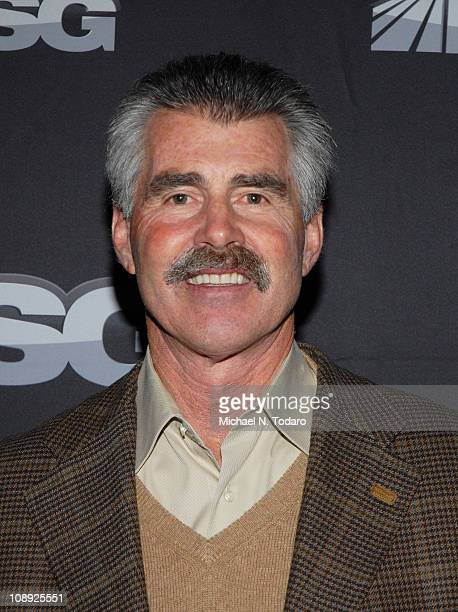 Bill Buckner attends the premiere of 'The Summer of 86 The Rise and Fall of the World Champion Mets' at MSG Studios on February 8 2011 in New York...