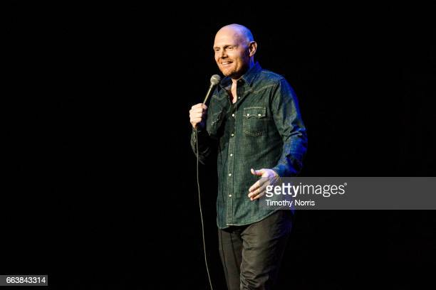 Bill Burr performs during KROQ Presents Kevin Bean's April Foolishness 2017 at The Shrine Auditorium on April 1 2017 in Los Angeles California
