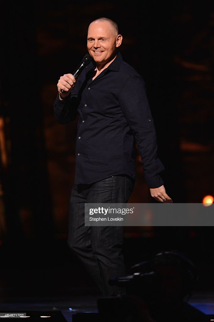 Bill Burr performs on stage at Comedy Central Night Of Too ...