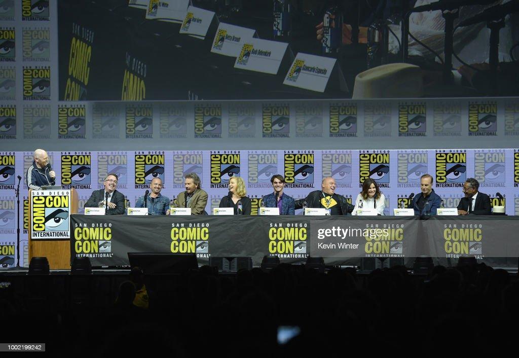 Comic-Con International 2018 - Breaking Bad 10th Anniversary Celebration : News Photo