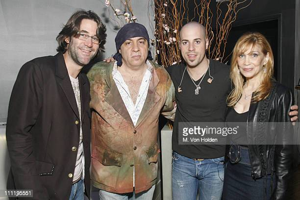 Bill Burrs Stevie Van Zandt Chris Daughtry and Maureen Van Zandt **EXCLUSIVE COVERAGE**