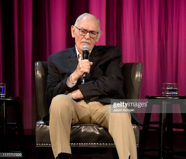 Bill C Malone speaks onstage during a panel of the legacy Of Boudleaux and Felice Bryant at Country Music Hall of Fame and Museum on September 28...
