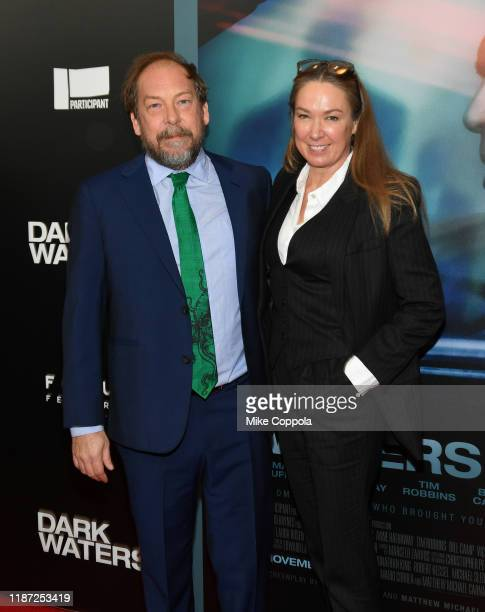 """Bill Camp and Elizabeth Marvel attend the """"Dark Waters"""" New York Premiere at Walter Reade Theater on November 12, 2019 in New York City."""