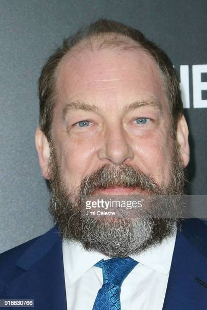 """Bill Camp attends Hulu's """"The Looming Tower"""" Series Premiere at The Paris Theatre on February 15, 2018 in New York City."""