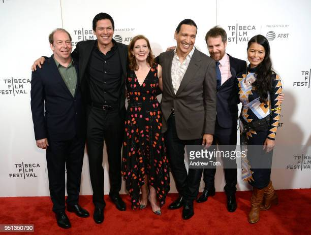 Bill Camp Chaske Spencer Erika Olde Susanna White Michael Greyeyes Sam Rockwelland Rulan Tangen attend the DIRECTTV Premiere Of Women Walks Ahead At...