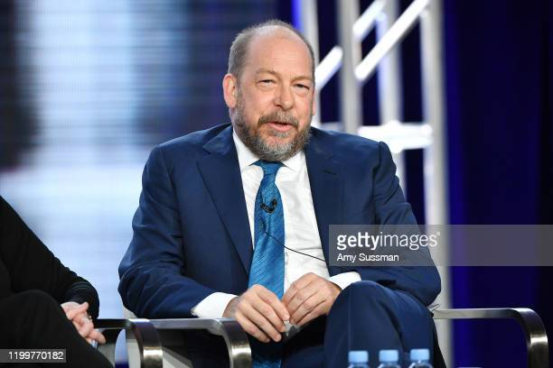 Bill Camp of 'Forensic Files II' speaks during the HLN segment of the 2020 Winter Television Critics Association Press Tour at The Langham Huntington...