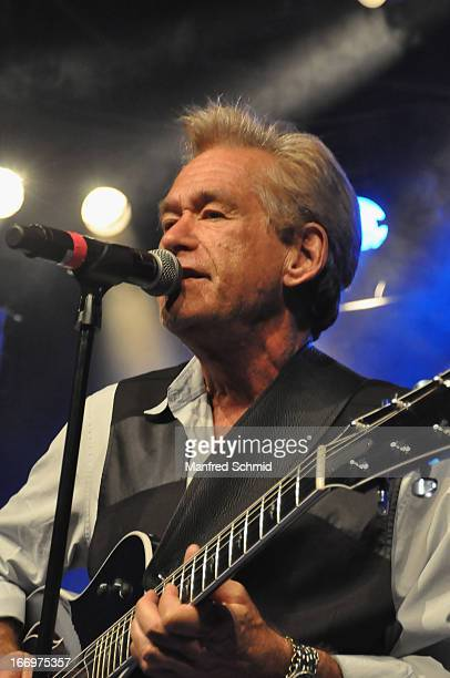 Bill Champlin formerly of Chicago performs onstage during the 30th anniversary party of Szene Wien on April 18 2013 in Vienna Austria
