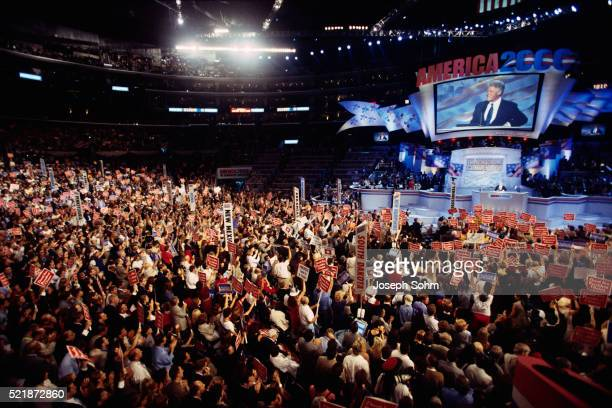 Bill Clinton at Democratic Convention