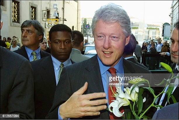 Bill Clinton in Italy