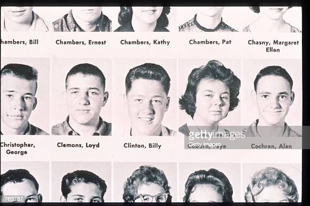 Bill Clinton is featured in a photograph from his youth in Arkansas The future President became a top saxophone player at his school and won first...