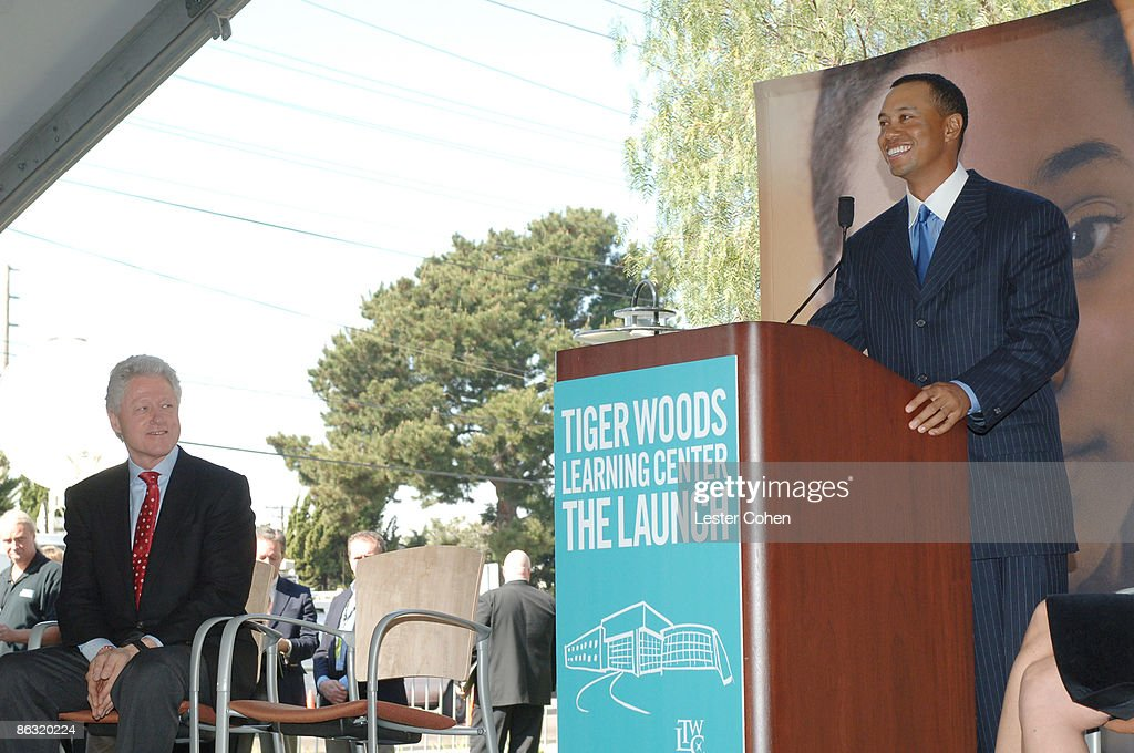Tiger Woods Learning Center Dedication : News Photo