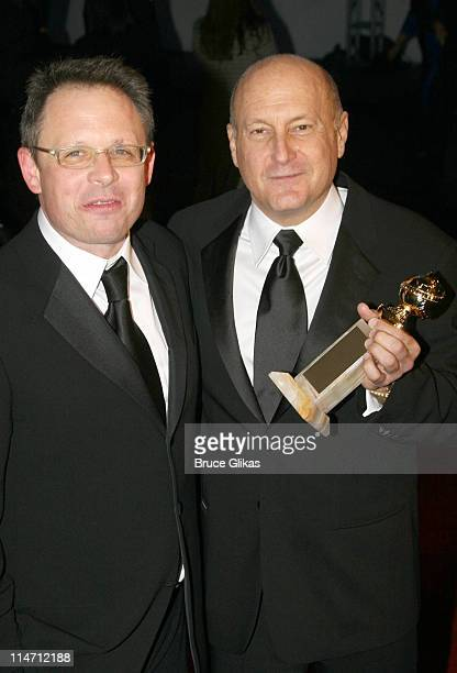 Bill Condon and Laurence Mark during Paramount Pictures Hosts 2007 Golden Globe Award AfterParty at Beverly Hilton Hotel in Beverly Hills California...