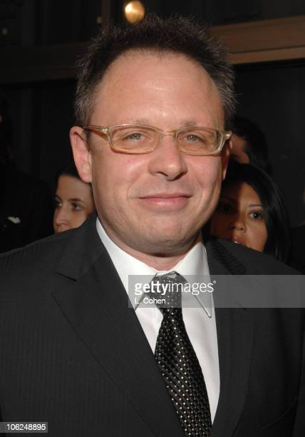 Bill Condon director during Dreamgirls Los Angeles Premiere Red Carpet at Wilshire Theater in Los Angeles California United States