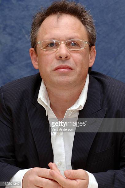 Bill Condon director during Dreamgirls Press Conference with Jamie Foxx Eddie Murphy Beyonce Knowles Jennifer Hudson and Bill Condon at TBD in TBD...