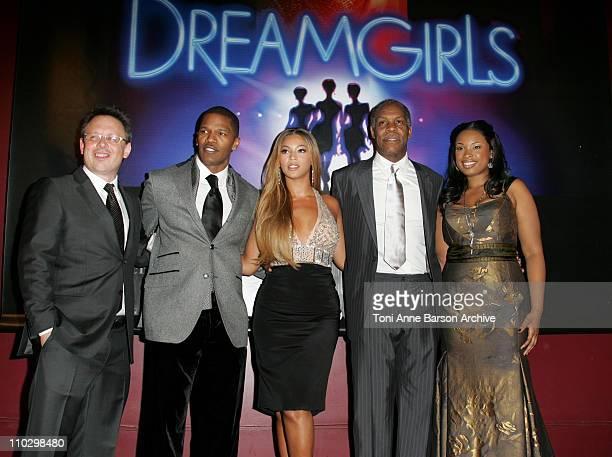 Bill Condon Director Jamie Foxx Beyonce Danny Glover and Jennifer Hudson