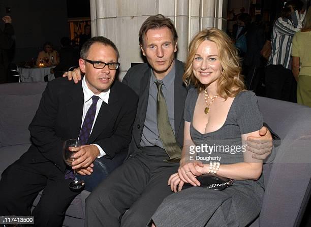 Bill Condon director Liam Neeson and Laura Linney