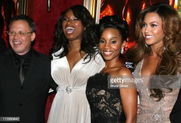 Bill Condon Jennifer Hudson Anika Noni Rose and Beyonce Knowles