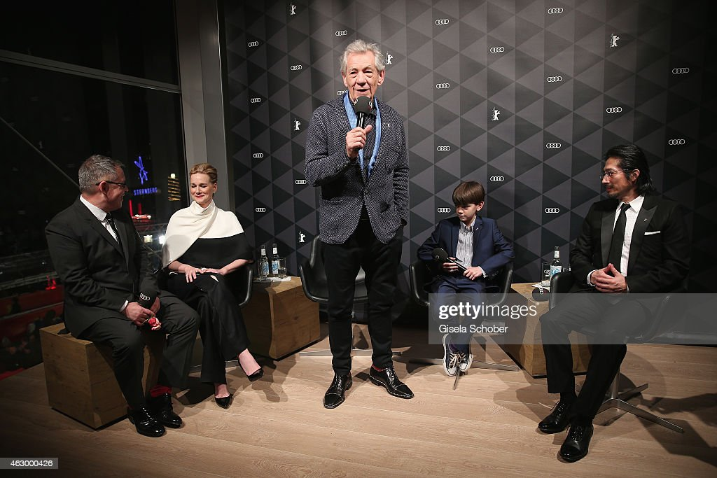 Q&A 'Mr. Holmes' - AUDI At The 65th Berlinale International Film Festival : News Photo