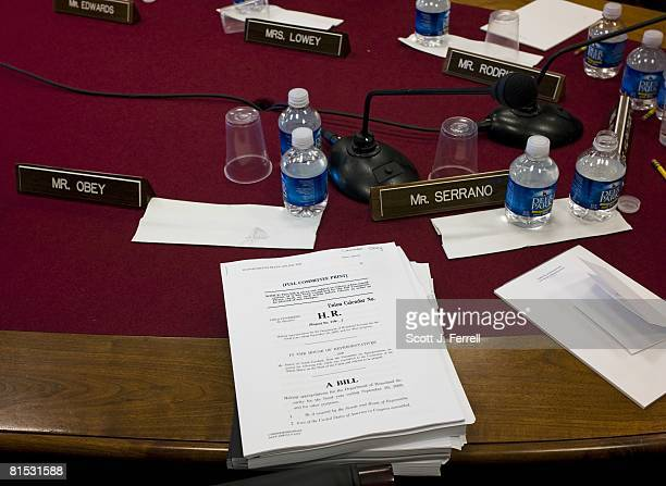 Bill copies after the House Appropriations Homeland Security Subcommittee markup of a fiscal 2009 Homeland Security spending bill that would ignore...