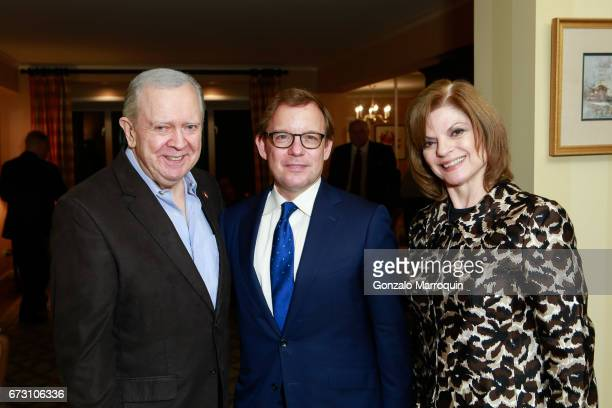 Bill Corsair Eric Shawn and Janis Corsair attend the Paul Dee Dee Sorvino celebrate their new book Pinot Pasta Parties at 200 East 57th Street on...
