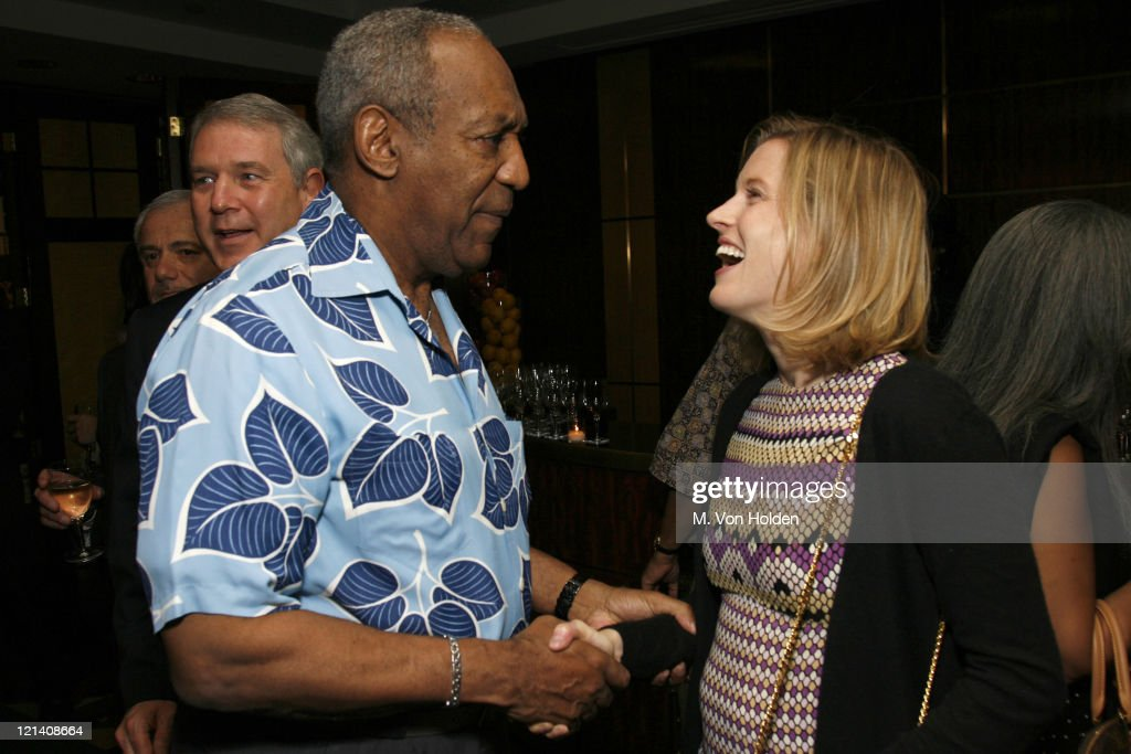 Bill Cosby and Karenna Gore Schiff during The Thelonious Monk Institute of Jazz Special VIP Reception in Advance of 'Herbie's World' to Benefit Monk Institute Jazz Programs at Weill Recital Hall, Carnegie Hall in New York, New York, United States.