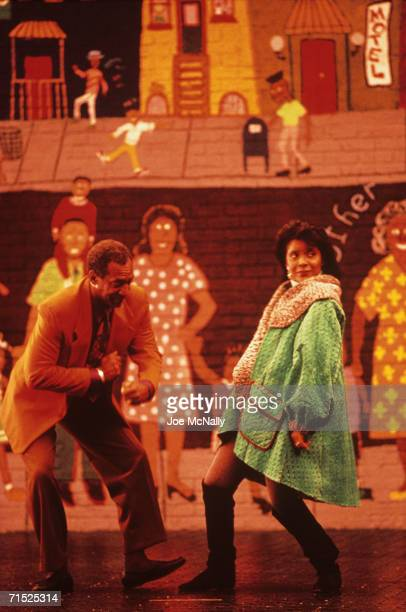 Bill Cosby and Phylicia Rashad film the new opening sequence for The Cosby Show's seventh season at Kaufman-Astoria Studios in New York in August,...