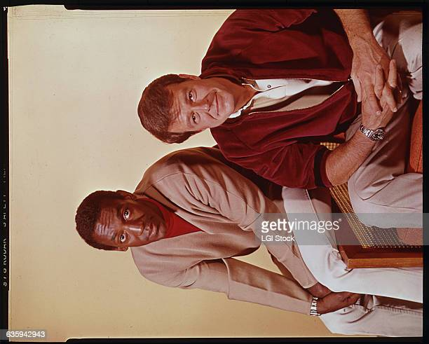 Bill Cosby and Robert Culp the stars of the 1960s television series called I Spy