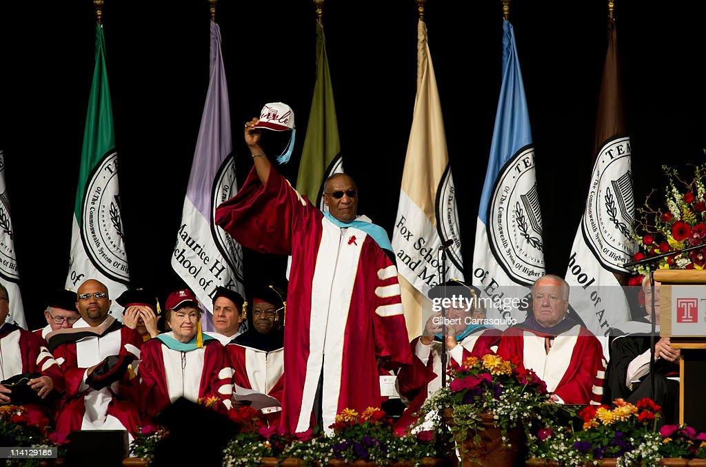 2011 Temple University Commencement : News Photo