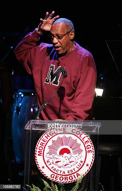 Bill Cosby during A Tribute to Ray Charles Hosted by Morehouse College and Bill Cosby Show at Beverly Hilton in Beverly Hills California United States