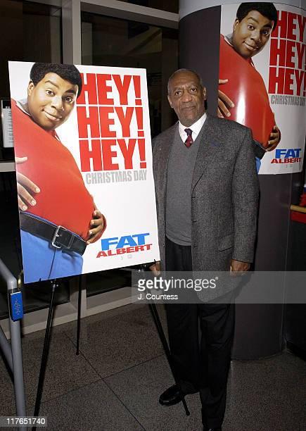 "Bill Cosby during ""Fat Albert"" Philadelphia Premiere - Arrivals at Temple University Liacouras Center in Philadelphia, Pennsylvania, United States."