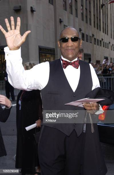 """Bill Cosby from NBC show """"The Cosby Show"""" during NBC 75th Anniversary at Rockefeller Plaza in New York City, New York, United States."""