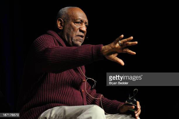 Bill Cosby performs at The New York Comedy Festival And The Bob Woodruff Foundation Present The 7th Annual Stand Up For Heroes Event at The Theater...