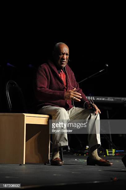 Bill Cosby performs at theThe New York Comedy Festival And The Bob Woodruff Foundation Present The 7th Annual Stand Up For Heroes Event at The...