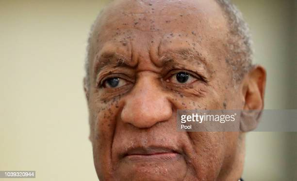 Actor/standup comedian Bill Cosby leaving first day of sentencing for his sexual assault trial on September 24 2018 in Norristown Pennsylvania