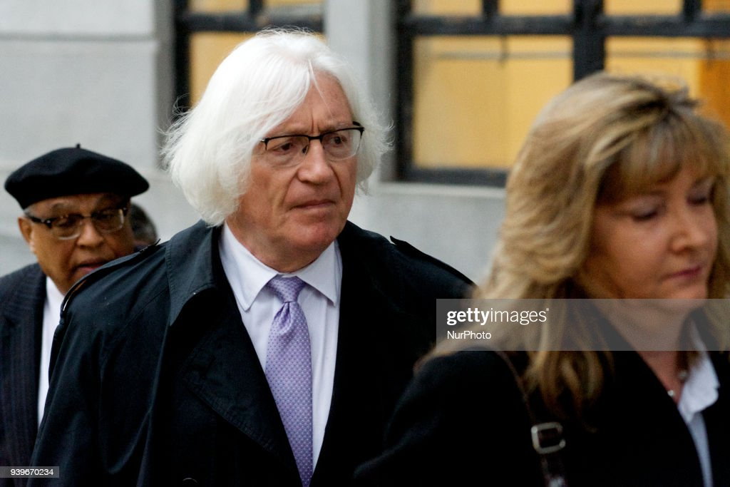 Bill Cosbys Defense Attorney Tom Mesereau arrives for a March 29, 2018 pre-trial hearing at Montgomery County Courthouse, in Norristown, PA. The sexual assault trial against the American actor/entertainer is scheduled to start on April 2nd.