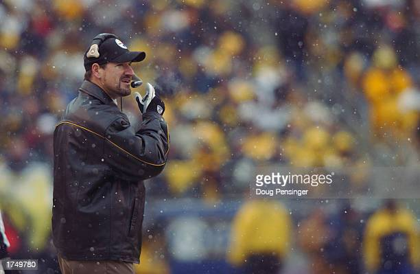 Bill Cowher and the Pittsburgh Steelers hangs on for a fourth quarter comeback win against of the Cleveland Browns as the Steelers defeated the...