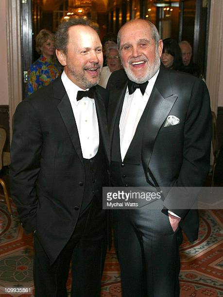 Bill Crystal and Alan King during 58th Boys Towns of Italy at Waldorf Astoria in New York City New York United States