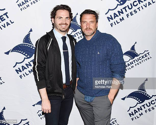 Bill Currana and actor Raúl Esparza attend the 'OPENING PARTY' for 2016 Nantucket Film Festival Day 1 on June 22 2016 in Nantucket Massachusetts