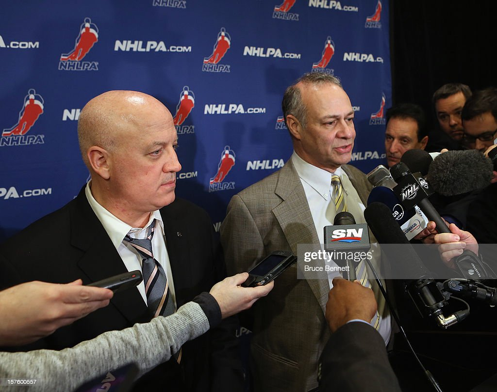 Bill Daly Deputy Commissioner Of The National Hockey League And