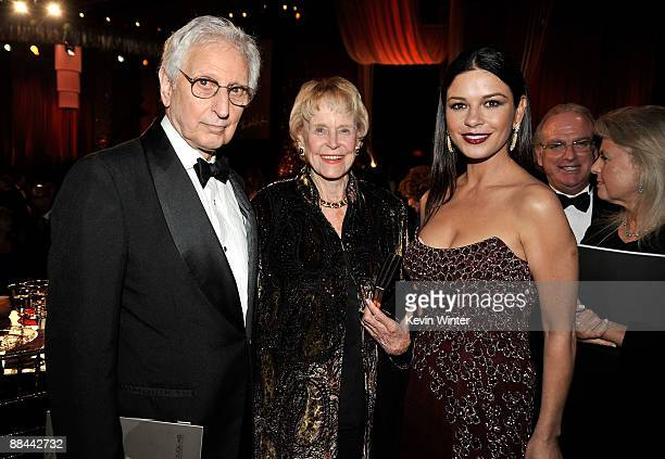Bill Darrid Diana Douglas Darrid and Actress Catherine ZetaJones during the AFI Lifetime Achievement Award A Tribute to Michael Douglas held at Sony...