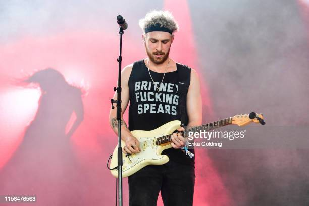 Bill Dess of Two Feet performs during 2019 Bonnaroo Music Arts Festival on June 16 2019 in Manchester Tennessee